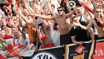 «Спартак» в матче против «Амкара» останется без фанатов