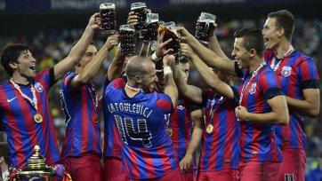 «Стяуа» вновь становится чемпионом Румынии