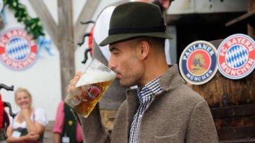 Гвардиола не хочет, чтобы его обливали пивом