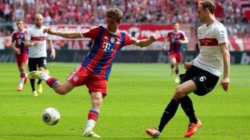 «Бавария» отпраздновала чемпионство победой над «Штутгартом»