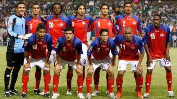 Коста-Рика назвала расширенную заявку