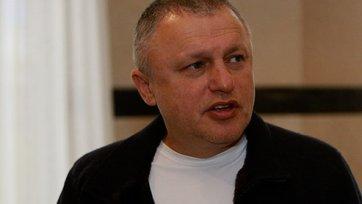 Игорь Суркис: «Надеюсь, что кубок приедет в наш город»