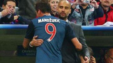 Марио Манджукич не сыграет в финале Кубка Германии