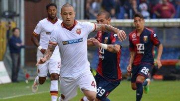 «Рома» завершила сезон поражением в Генуе