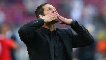 Симеоне считает, что вера в успех помогла «Атлетико»