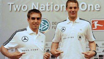 Официальный сайт «Баварии»: Нойер и Лам сыграют на мировом первенстве