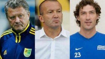 Определены три кандидата на пост главного тренера «Днепра»