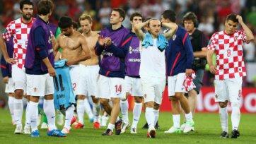 Сборная Хорватии не сможет рассчитывать на двух футболистов