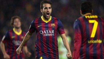 «Барселона» готова продать Фабрегаса за 40 миллионов!