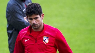 Диего Коста не будет тренироваться ближайшие две недели