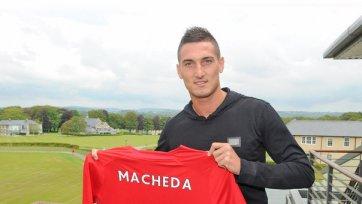 Официально: Македа стал игроком «Кардиффа»