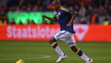 Валенсия не сможет помочь Колумбии на чемпионате мира