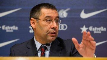 Бартомеу: «Барселона» провернет один-два громких трансфера»