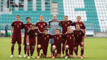 Российская «молодежка» выиграла у Эстонии