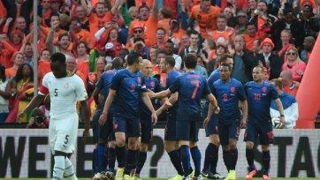 Голландия минимально обыграла Гану