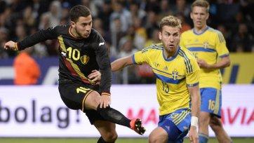 Бельгия обыграла шведов