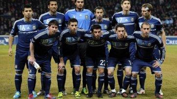 Сборная Аргентины самый возрастной участник ЧМ-2014
