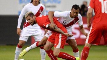 Швейцария выиграла у Перу