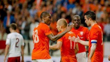 Голландия одолела Уэльса