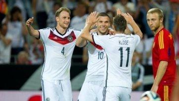Германия разнесла Армению в пух и прах