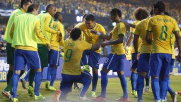 Бразилия с трудом обыграла Сербию
