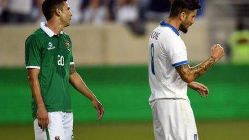 Греция была сильнее Боливии в товарищеском матче