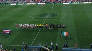 Коста-Рика сыграла вничью с Ирландией в контрольной встрече