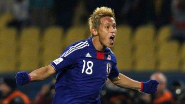 Япония и Замбия забили на двоих семь мячей
