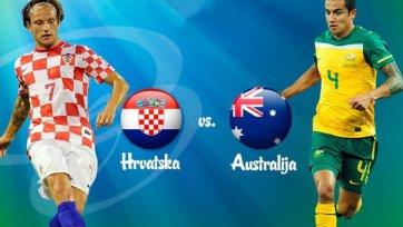 Гол Елавича помог Хорватии победить Австралию