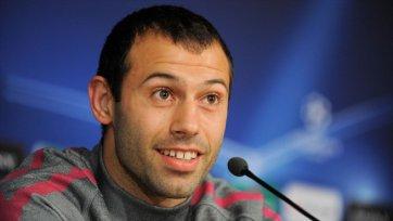 Маскерано: «Я рад продлению контракта с «Барсой»