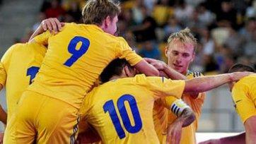 Украинская «молодежка» вырвала победу у латышей