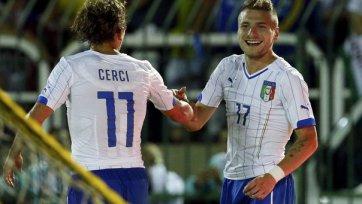 Сборная Италии провела товарищеский матч с «Флуминенсе»