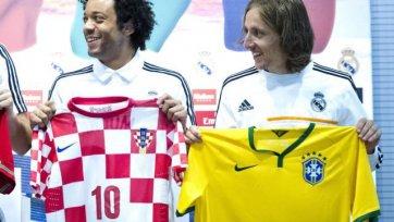 Модрич: «С нетерпением ждем матча против бразильцев»
