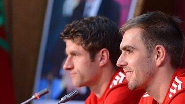 «Бавария» продлила контракты с Мюллером и Ламом