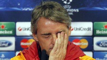 Официально. Роберто Манчини больше не является тренером «Галатасарая»