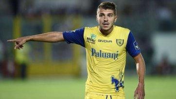 «Кьево» готовится оформить переход форварда «Милана»