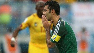 Рафаэль Маркес вошел в историю ЧМ как футболист, сыгравший на 4-х мировых турнирах