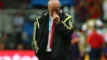 Висенте дель Боске: «Чувствую себя ужасно, но достаточно смел, чтобы принять поражение»