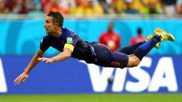 Ван Перси: «Мы просто наслаждались футболом в матче с Испанией»