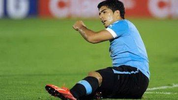 Суарес не включен в состав на матч с Коста-Рикой