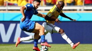 Колумбия начинает с крупной победы