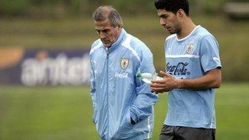 Оскар Табарес: «Суарес уже не травмирован, надеюсь, против Англии сыграет»