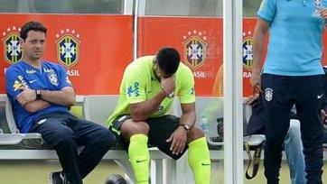Халк получил повреждение на тренировке сборной Бразилии