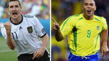 Дзенга: «Клозе – отличный игрок, но Роналдо был великим»