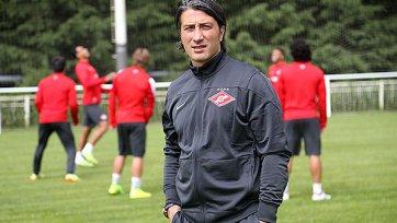 Якин провел первую тренировку в «Спартаке»