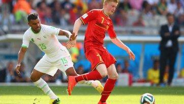 Де Брейне – лучший игрок матча Бельгия – Алжир