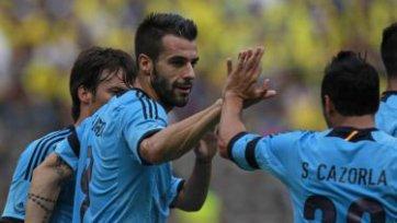 «Атлетико» положил глаз на форварда «МанСити»