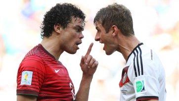Федерация Португалии просит отменить удаление Пепе в матче с Германией