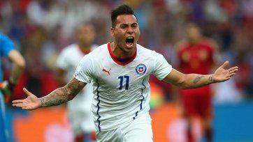 Варгас – лучший игрок матча Испания – Чили