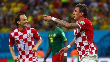 Хорватия разгромила Камерун